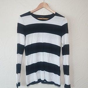Banana Republic long sleeve stripe shirt